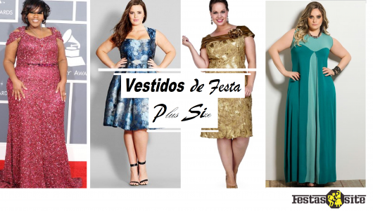 assembly with dress models in different colors plus size.