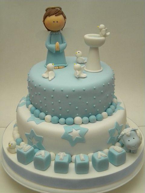 cake decoration baptism