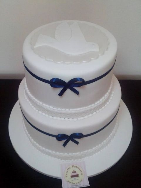 white with navy blue
