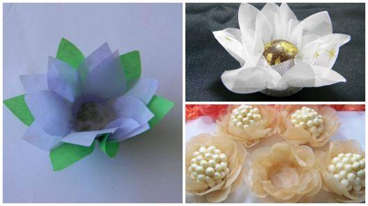 tissue paper models