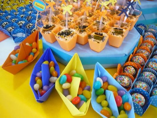 colourful party