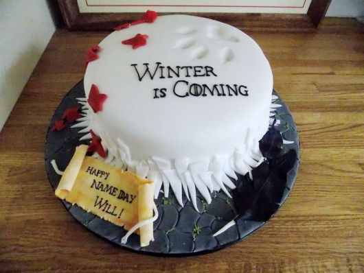 cake party game of thrones