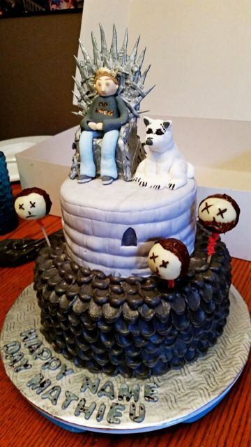 decorated cake game of thrones
