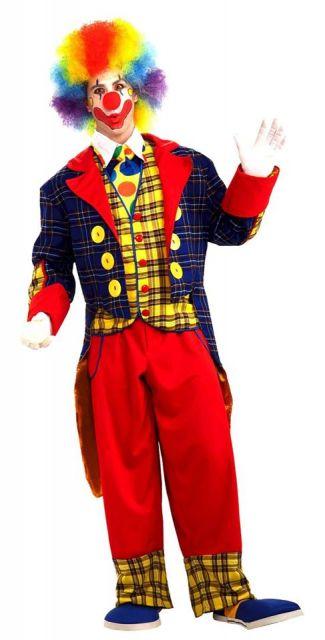 chic clown costume