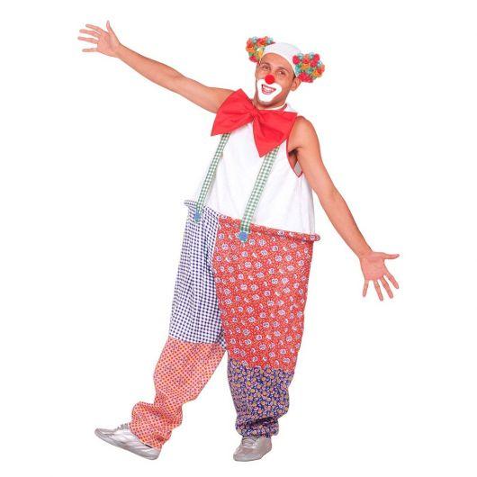 man clown costume