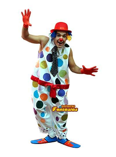 male clown costume