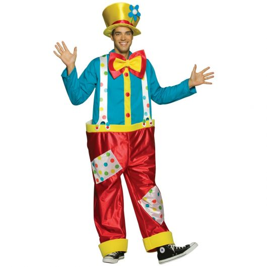 fun clown costume