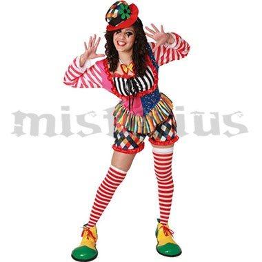 clown stripes costume