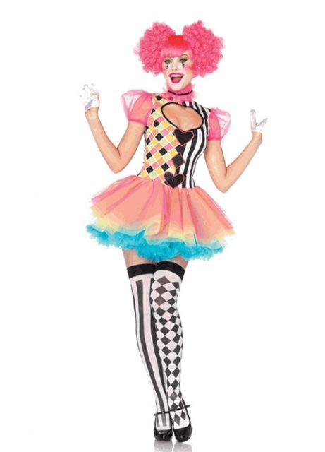 female clown costume