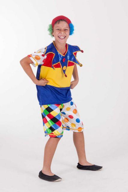 big children's clown costume