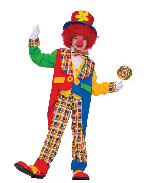 children's clown costume how to do