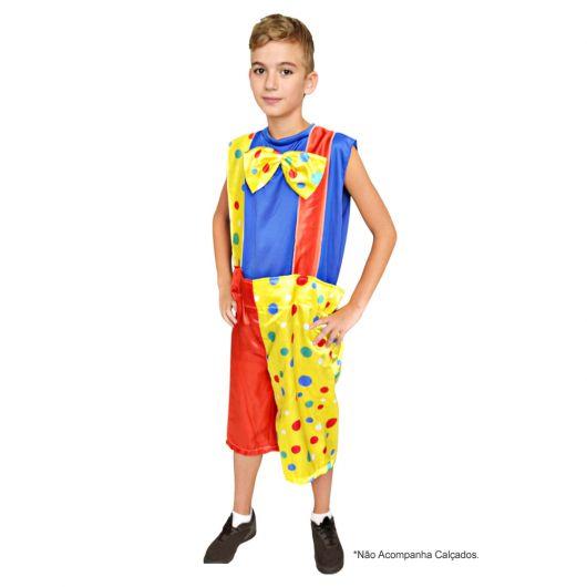 simple kids clown costume