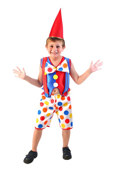 clown costume for little ones