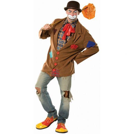 makeshift clown costume