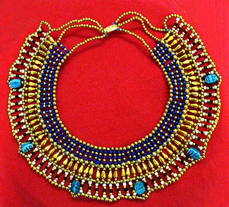 necklaces for Cleopatra's costumes