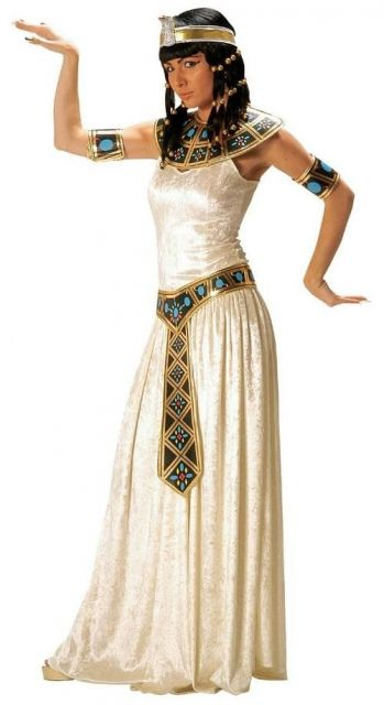 how to wear Cleopatra's costumes
