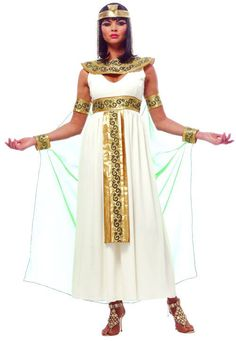 Cleopatra's costumes luxury version