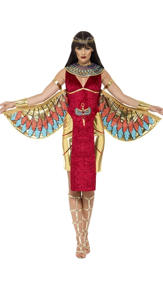 red Cleopatra costumes