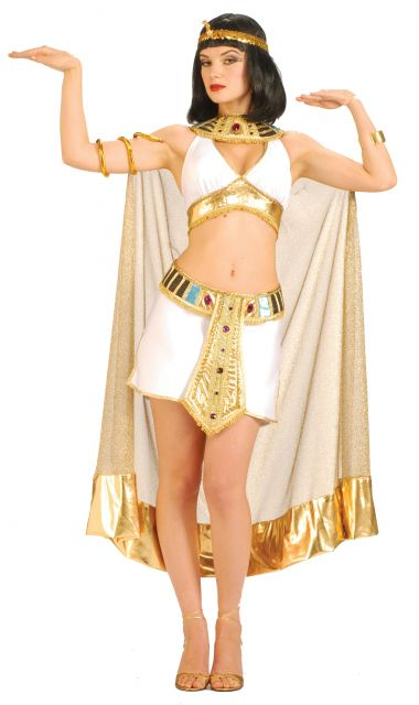 Cleopatra top and skirt costumes