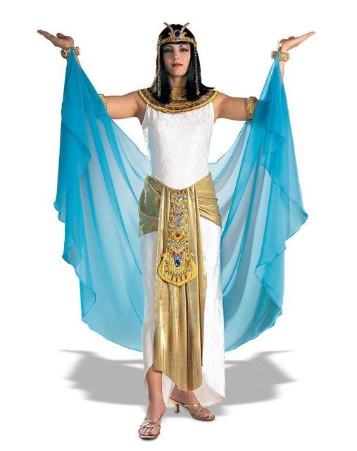 homemade Cleopatra costumes