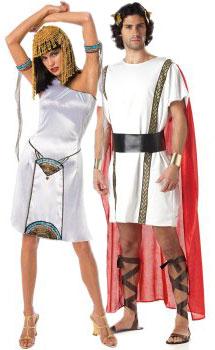 Cleopatra's roman costumes