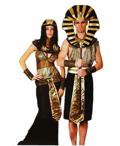 Cleopatra's costumes for husband and wife