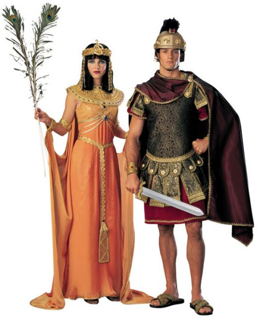 Cleopatra costume tips for couples