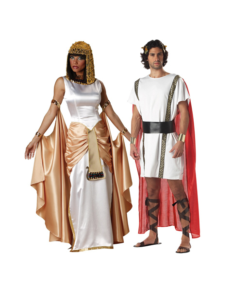 Cleopatra costume models for couples