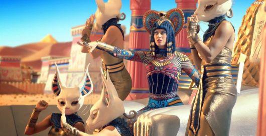 Katty Perry's photos of Cleopatra