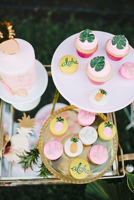 hawaiian party sweets