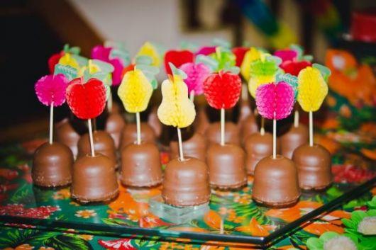 candy hawaiian party