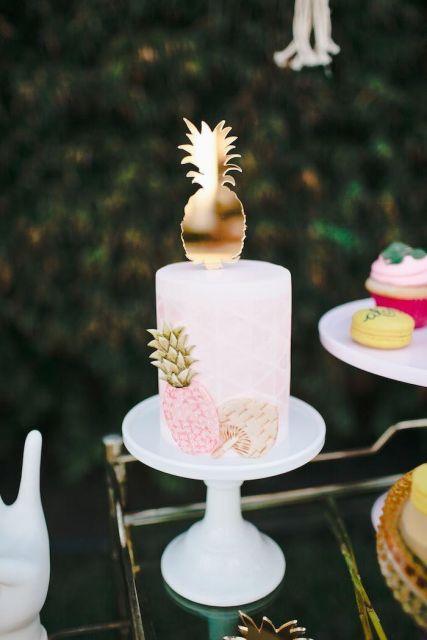 Hawaiian party cake ideas