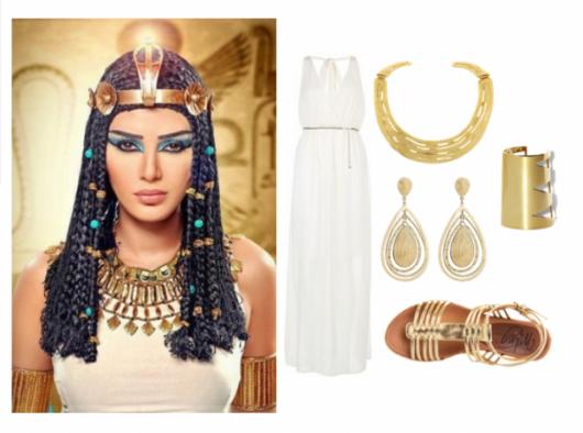Cleopatra costume accessories