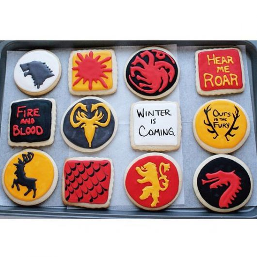 cookies party game of thrones
