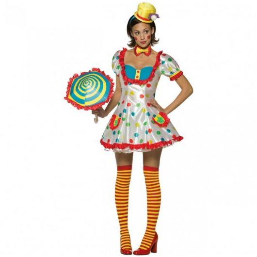 woman clown costume