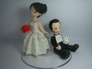 wedding table centerpiece in biscuit