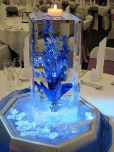 centerpiece for aquarium model wedding