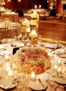 table center photos for wedding