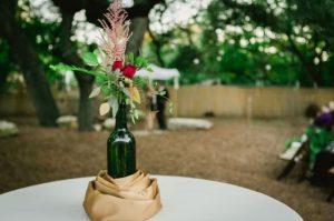table center for easy wedding