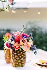creative wedding centerpiece