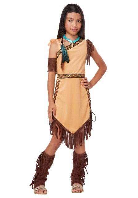 Indian children's costume from Pocahontas