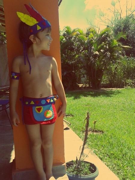 beautiful children's indian costume