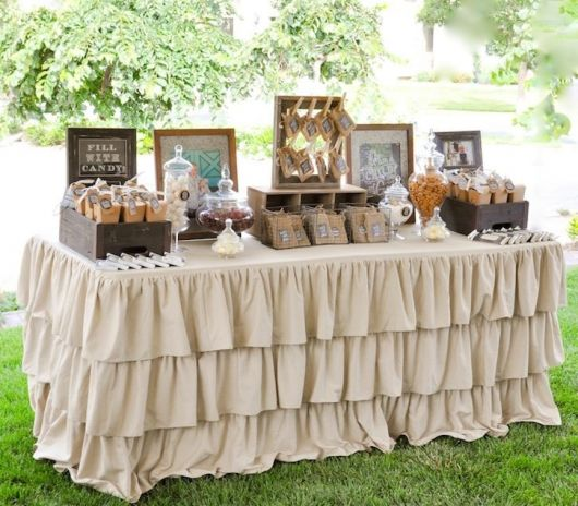 christening table styles