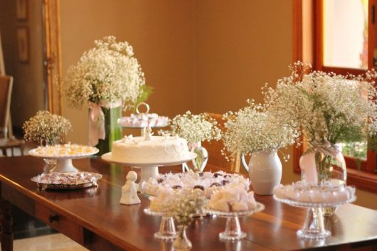 beautiful christening table models
