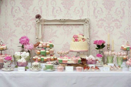 how to decorate christening table