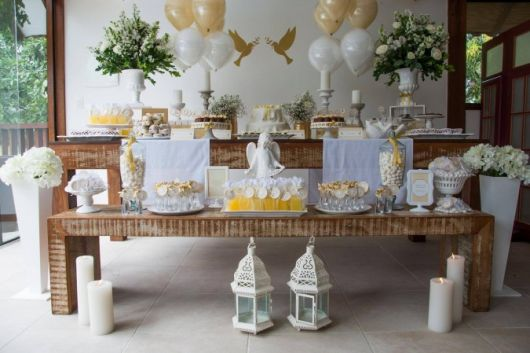 baptism table how to do