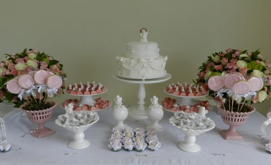 provencal style baptism table