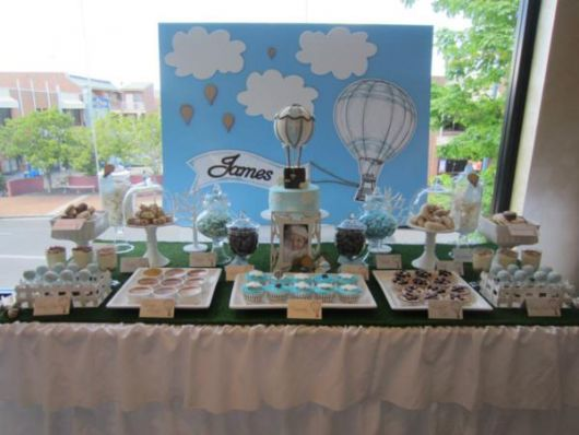 christening table to make at home