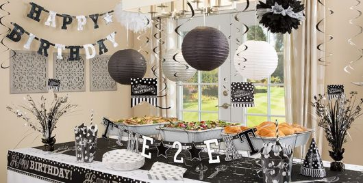 30-year-old black-white party