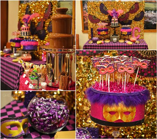 30-year-old colorful party
